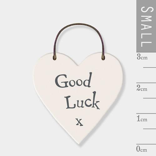 Little Heart Sign-Good Luck