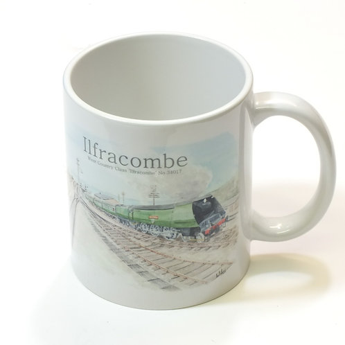 Ilfracombe Steam Days Mug