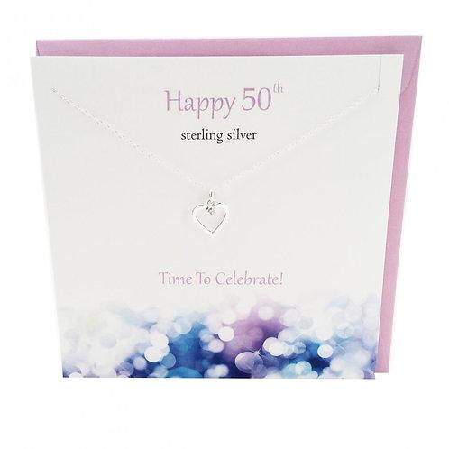 Happy Birthday pendant 50