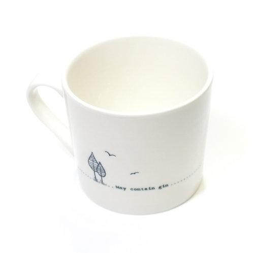 Wobbly Mug-May contain gin