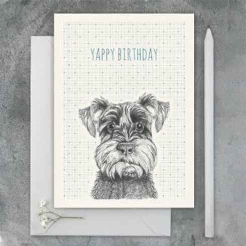 Animal Card-Yappy Birthday