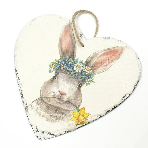 Bunny, Heart Slate