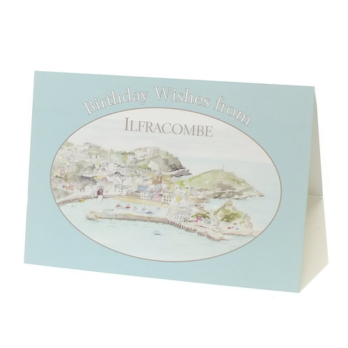 """July - """"Birthday Wishes from Ilfracombe"""""""