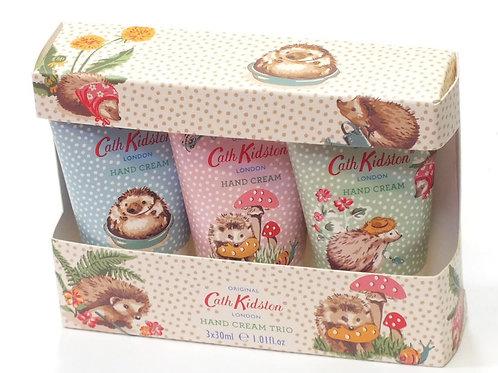 Cath Kidston Gardeners Club Hedgehogs Hand Cream Trio