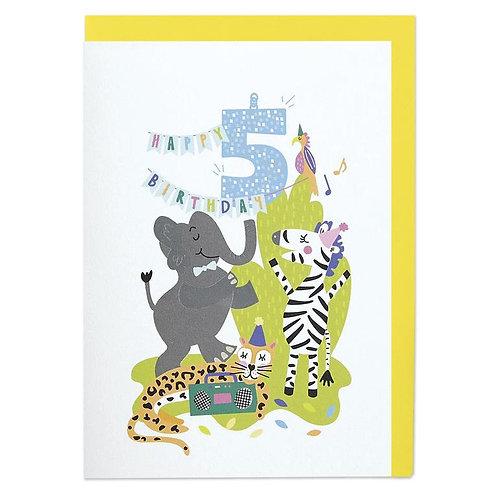 Safari Disco - Age 5
