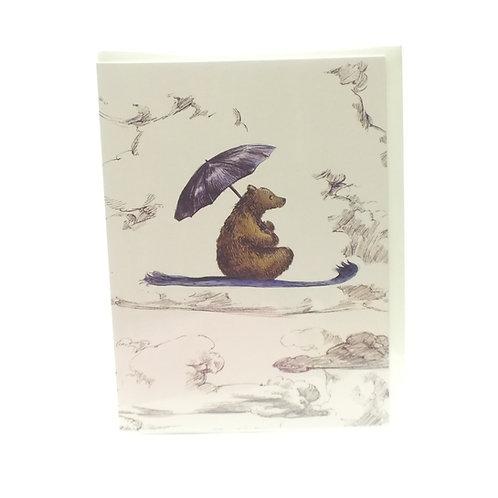 Little Bear In Colour Card