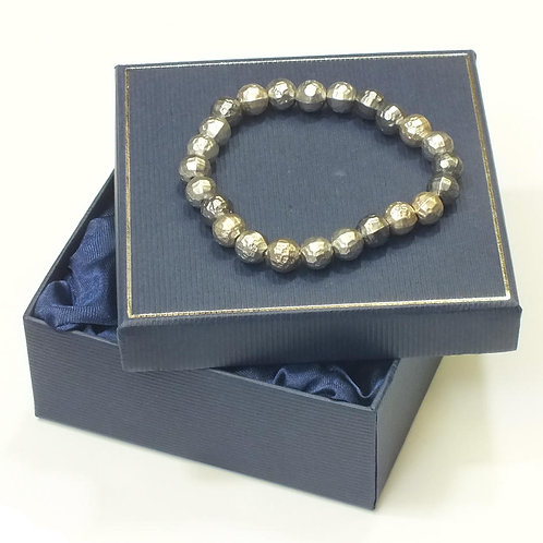 Grey/ Gold Asteroid Ball Bracelet