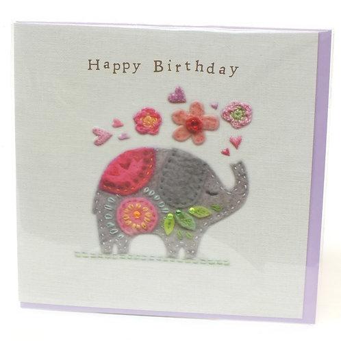 Birthday Elephant - Touchy Feely