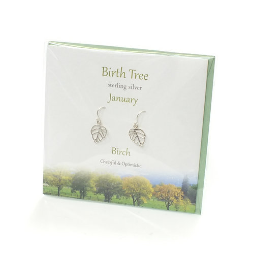 Birthday Tree Earrings