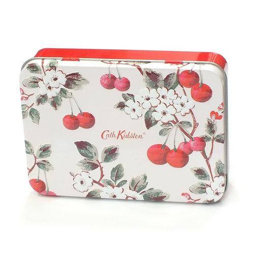 Cath Kidston Cherry Sprig Hand & Lip Tin (50ml Hand Cream and 10ml Lip Balm)