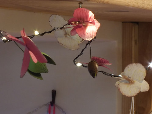 Orchid - 20 LED Chain - Battery