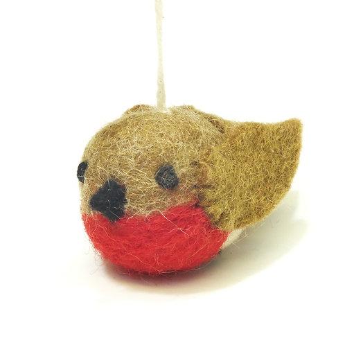 Mini Robin Decoration - Hanging