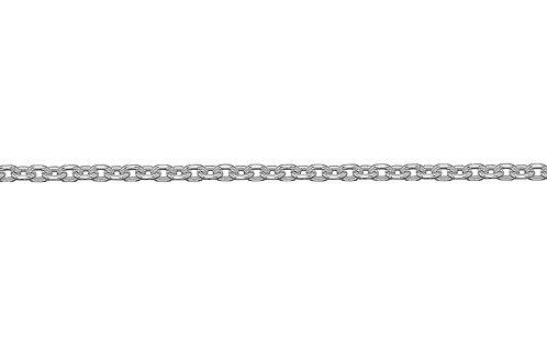 "Sterling Silver Chain Forzantina 26"""