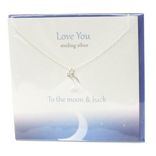 Love You To The Moon & Back Pendant