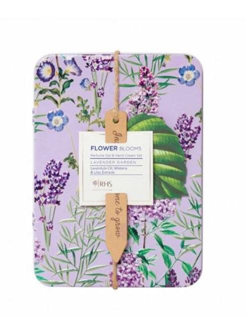 RHS Lavender Perfume Gel & Hand Cream Set