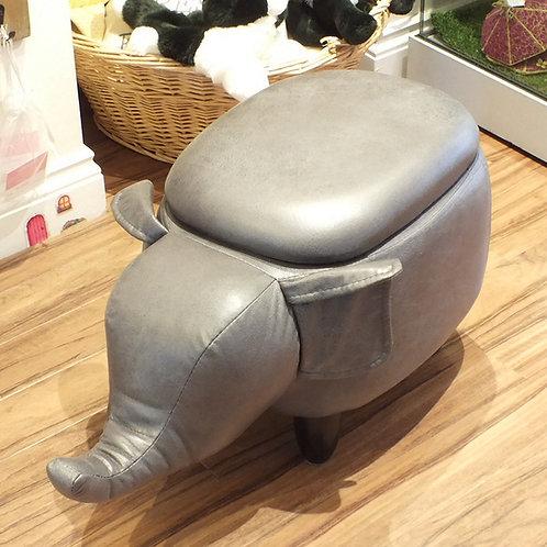 Elephant Storage Footstool
