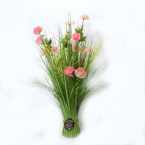 Floral Bundle Poppy 70cm