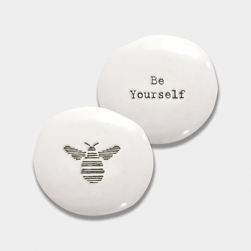 Porcelain Pebble-Bee/Be Yourself
