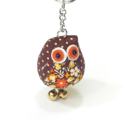 Vintage Mini Owl Keyring