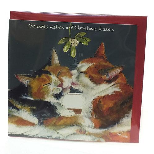 Christmas Card - Seasons Wishes