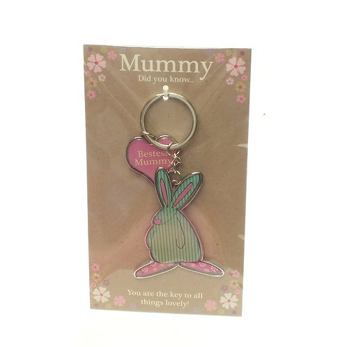 Bestest Mummy Keyring
