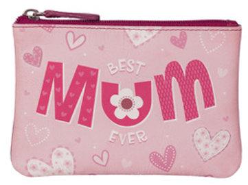 Pinky Best Mum Coin Purse