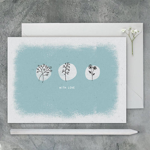 Pebble Card-With Love