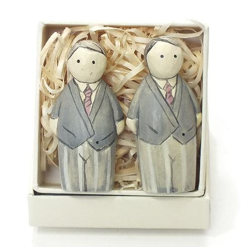 Boxed-Groom & Groom