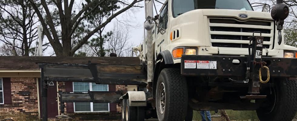 K3 Setting Up Crane Service