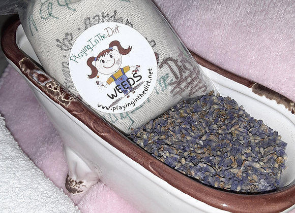 Herbal Epsom & Sea Salt Bath Bag
