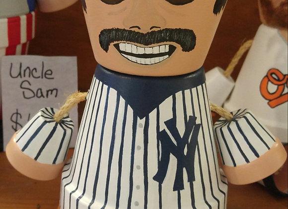 New York Yankees Pot Head