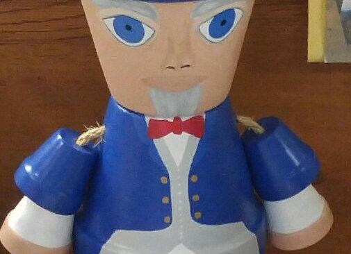 Uncle Sam Pot Head