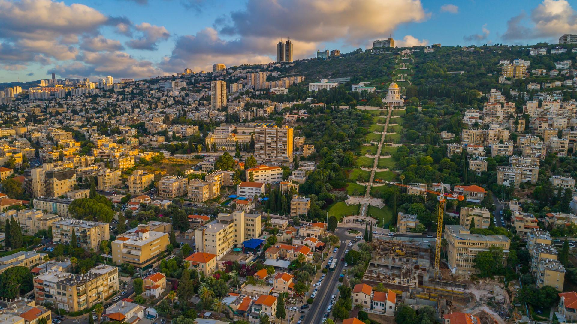 haifa-bahai-gardens-aerial-drone-view-is
