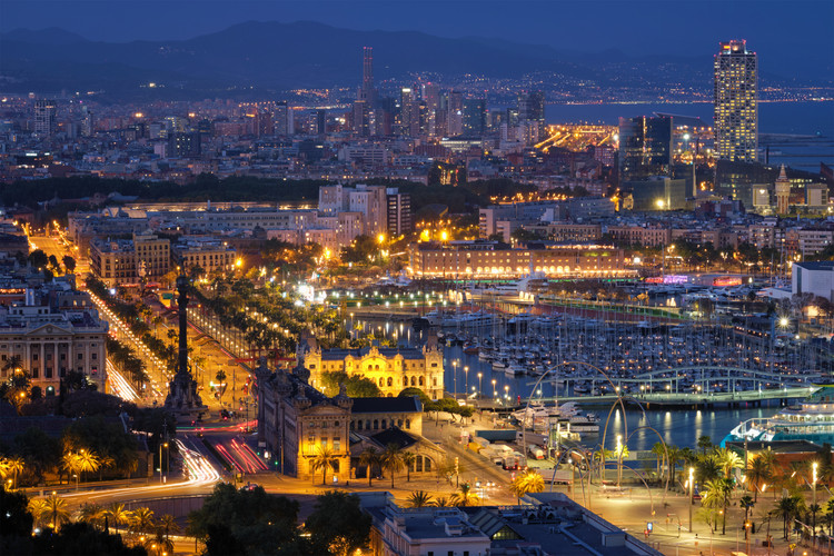 aerial-view-of-barcelona-city-and-port-w