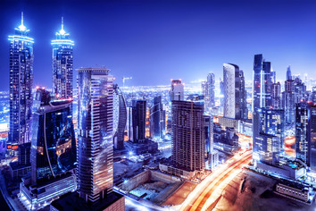 dubai-downtown-night-scene-PLVCE9W.jpg