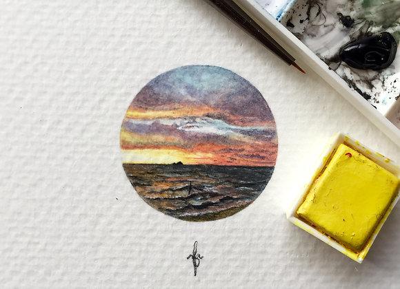 Sunset at Remis
