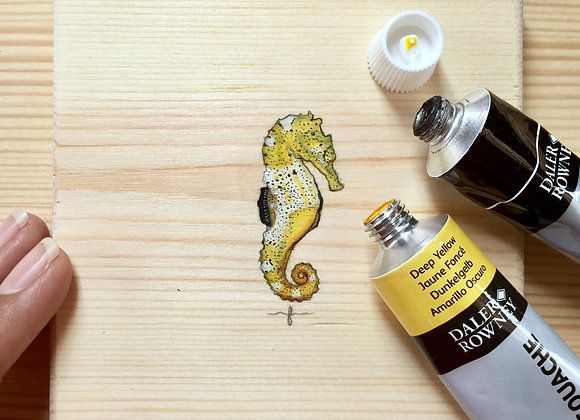 The Yellow Seahorse
