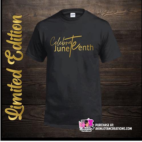 LIMITED EDITION Celebrate Juneteenth- Denton