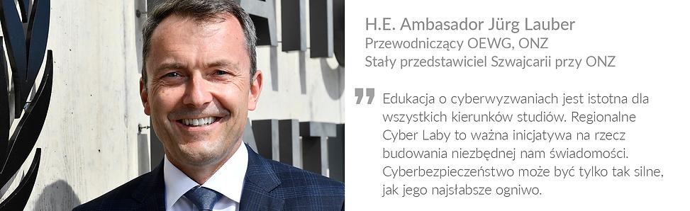 Ambassador Jurg Lauber