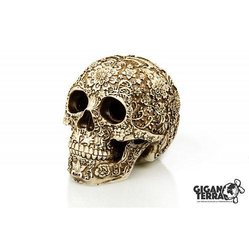 Crâne Floral 18 x 12 x 15 cm ref:600