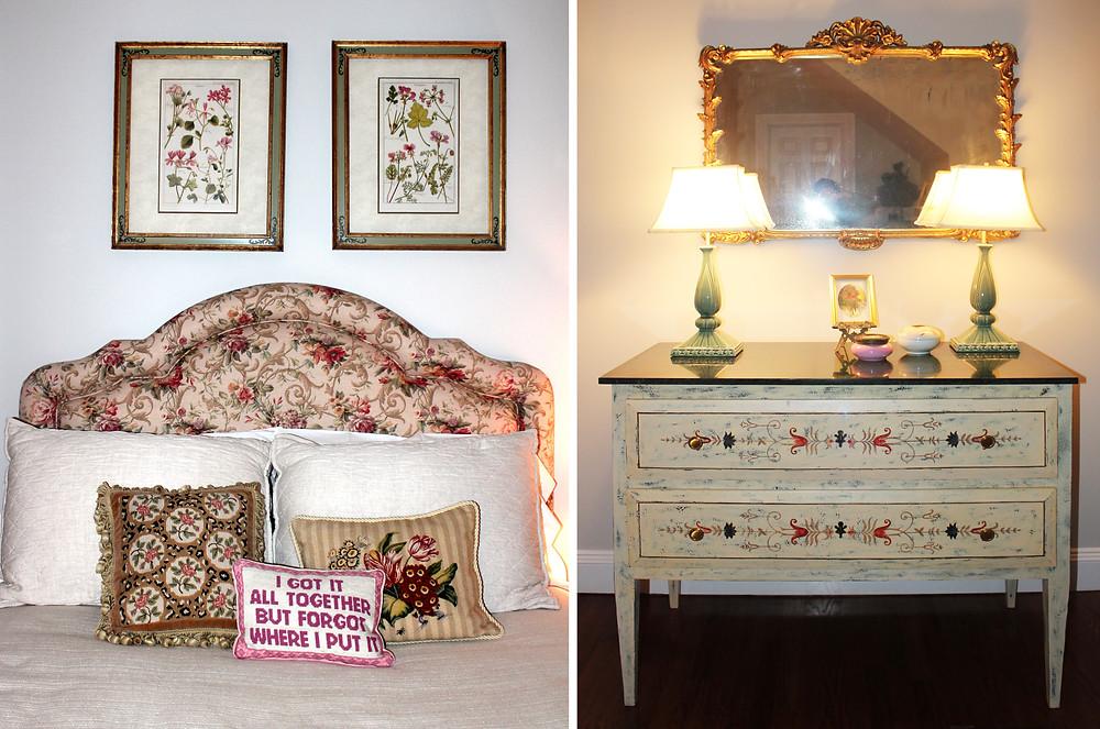 Interior Design, Floral, Marie Antoinette, Versailles