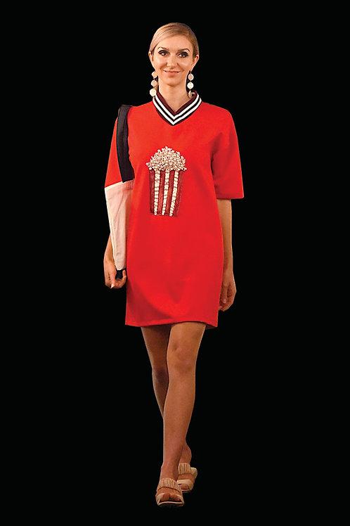 Popcorn Beaded Dress