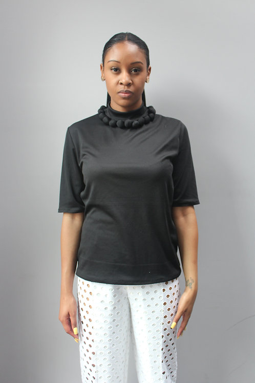Fabric Bead Blouse