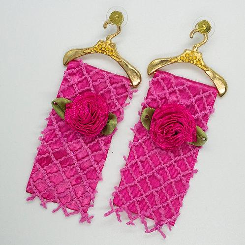 Rose Lattice Earrings