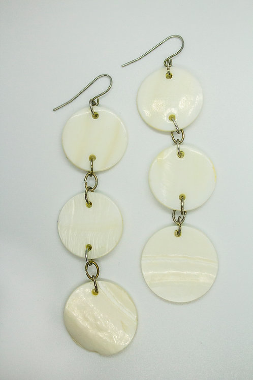 Ivory Ring Earrings