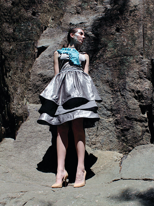 Metallic Mountain Skirt
