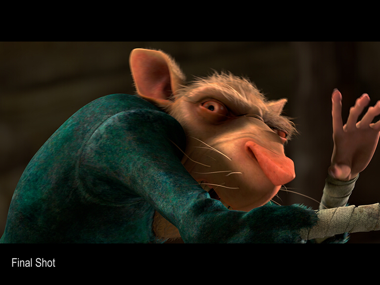 The Tale of Despereaux - Finaling