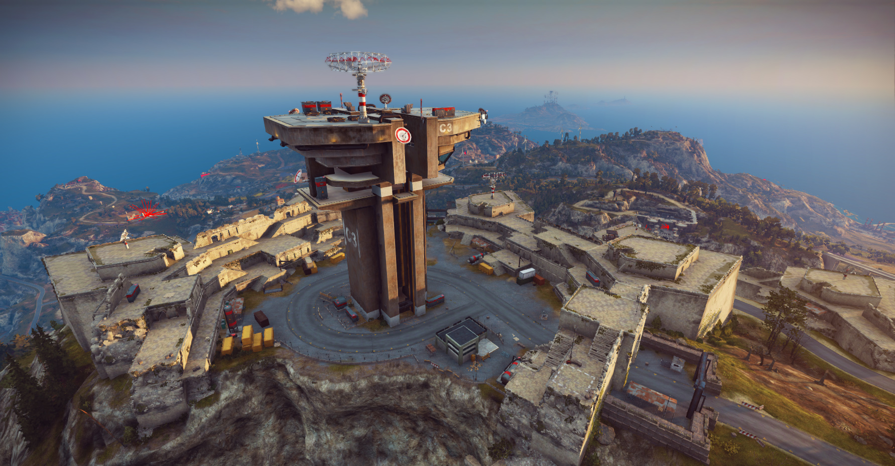 Just Cause 3 - Base Environments