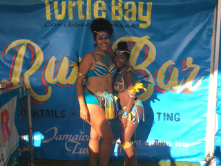 Jamaican Corner at Manchester Carnival