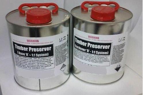 Epoxy Timber Preserver - 40Lt